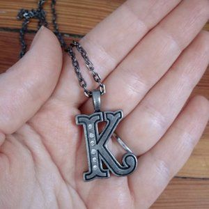 """Jewelry - Letter """"K"""" necklace"""